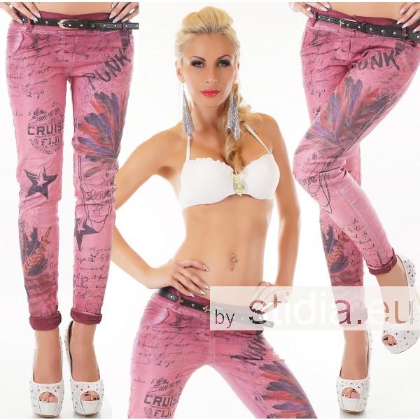 5 Stück SEXY Jeans HOSE PINK