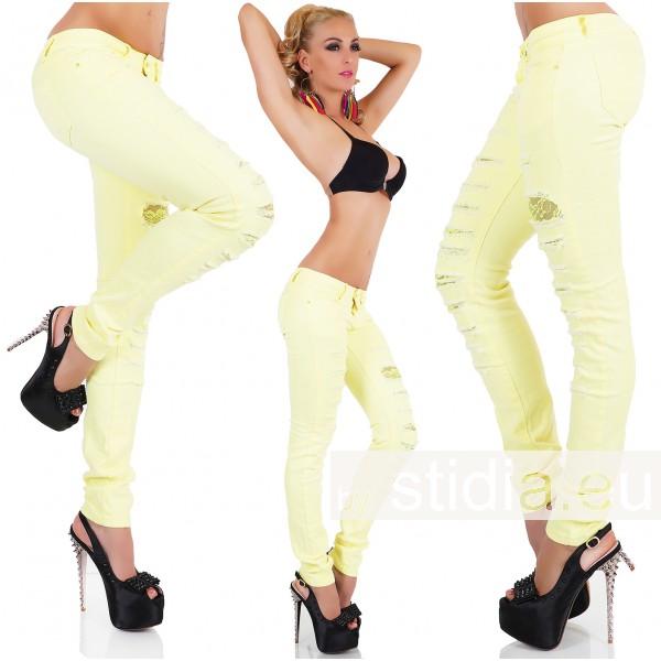 10 Stück SEXY Jeans  GELB