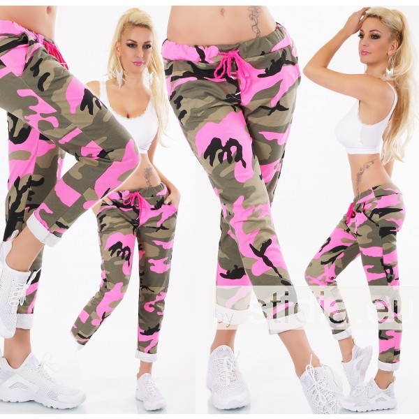 SEXY HOSE ITALY CAMOUFLAGE PINK