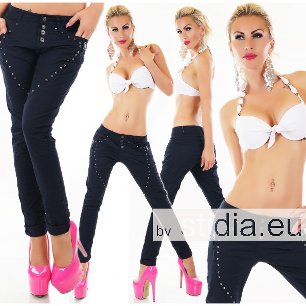 4 STÜCK SEXY Jeans HOSE ITALY BLAU