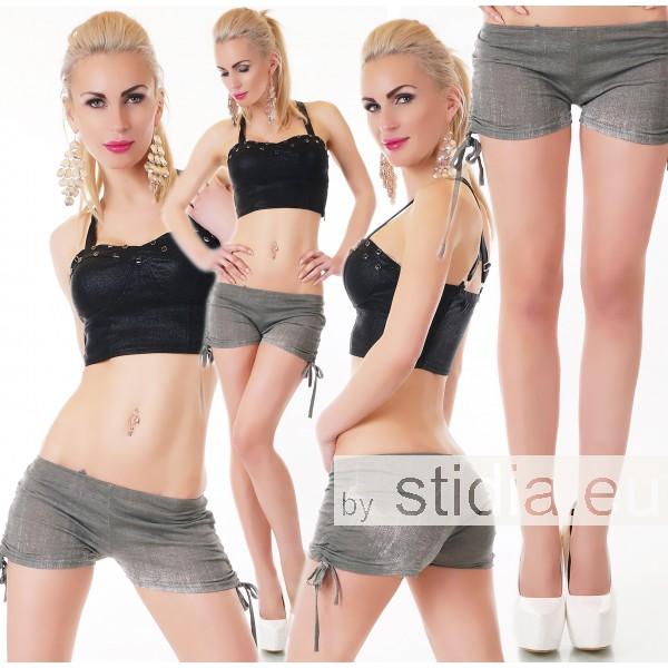 SEXY HOT PANTS SHORTS KHAKI