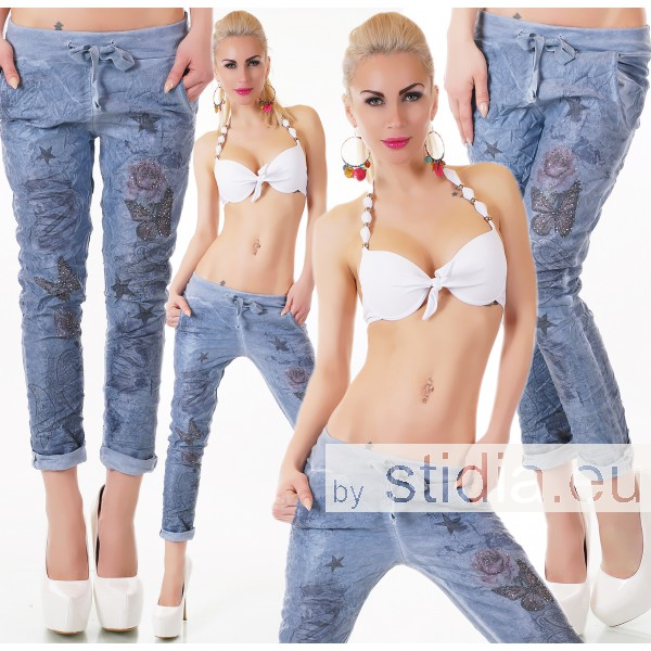 SEXY Jeans HOSE ITALY BLAU