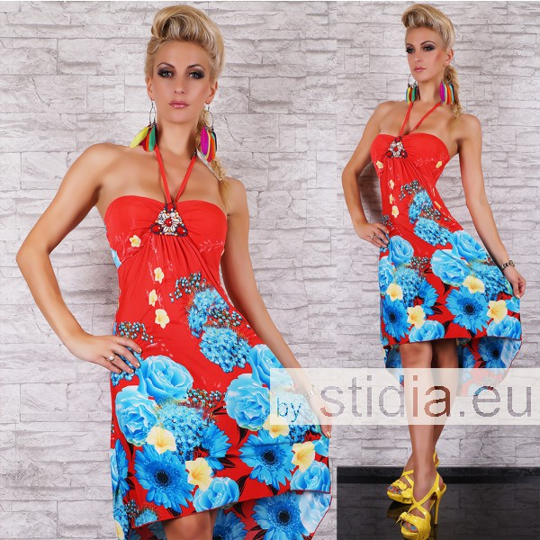 SEXY KLEID ROT