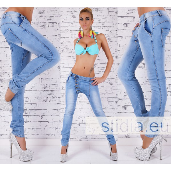 8 Stück SEXY Jeans BLUE WASHED