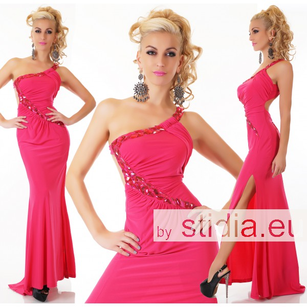 SEXY MAXI KLEID PINK