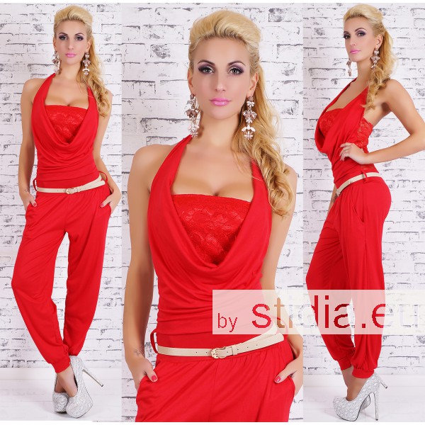 SEXY OVERALL JUMPSUIT ROT