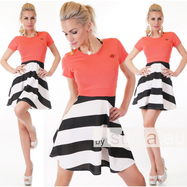 SEXY KLEID CORAL