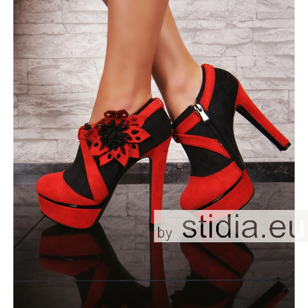 12 PIECES SEXY PLATEAU HIGH HEELS